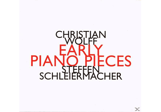 Steffen Schleiermacher - Early Piano Pieces - (CD)
