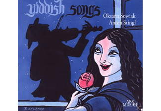 Anton Stingl (guitar) Oksana Sowiak (voice), Sowiak, Oksana / Stingl, Anton - Yiddish Songs - (CD)