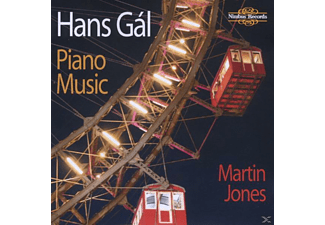 Martin Jones - Piano Music - (CD)