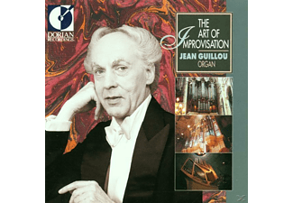 Jean Guillou - The Art Of Improvisation - (CD)