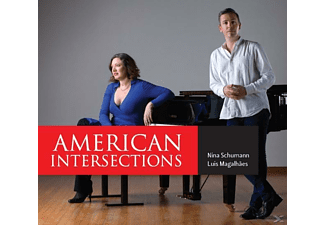 Luis Magalhaes (pno) Nina Schumann - American Intersections - (CD)