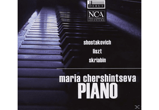 Maria Chershintseva - PIANO - (CD)