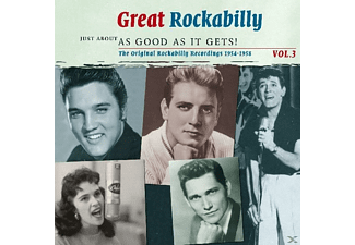 Cash, Johnny / Tennessee Three, The - Great Rockabilly Vol.3 - (CD)