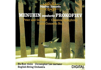Menuhin, Lee, Kun, English String Orch. - Menuhin Conducts Prokofiev - (CD)