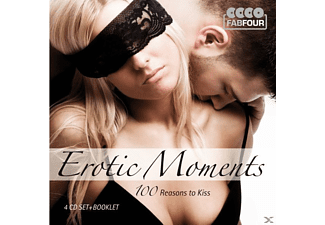 Presley/Valens/Everly Brothers/Anka/Boone - Erotic Moments - 100 Reasons To Kiss [CD]