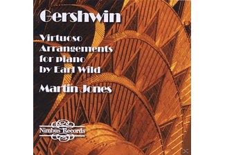 Martin Jones - Gershwin Arrangements For Piano - (CD)