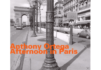 Anthony Ortega (alto Saxophone - Afternoon in Paris - (CD)
