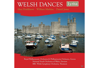 Royal Philharmonic Orchestra, National Youth Orchestra Of Wales, Bbc Welsh Symphony Orchestra - Welsh Dances - (CD)