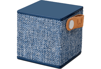 FRESH N REBEL Enceinte portable Rockbox Cube Fabric Indigo (1RB1000IN)