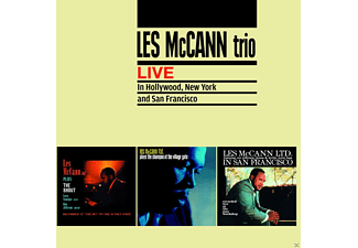 Les Trio Mccann - Live In Hollywood, New York And San Francisco/+ - (CD)