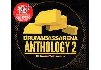 VARIOUS - Drum + Bass Arena - Anthology Vol.2 - (CD)