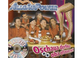 Allgäu Power - Oschaua Derfma Oba Ofassn Net - (5 Zoll Single CD (2-Track))