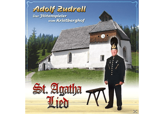 Adolf Zudrell - St.Agatha Lied - (5 Zoll Single CD (2-Track))