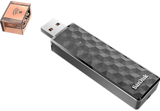 Pendrive de 64 GB - SanDisk Connect Wireless Stick, conexión vía WiFi, compatible Android e iOS