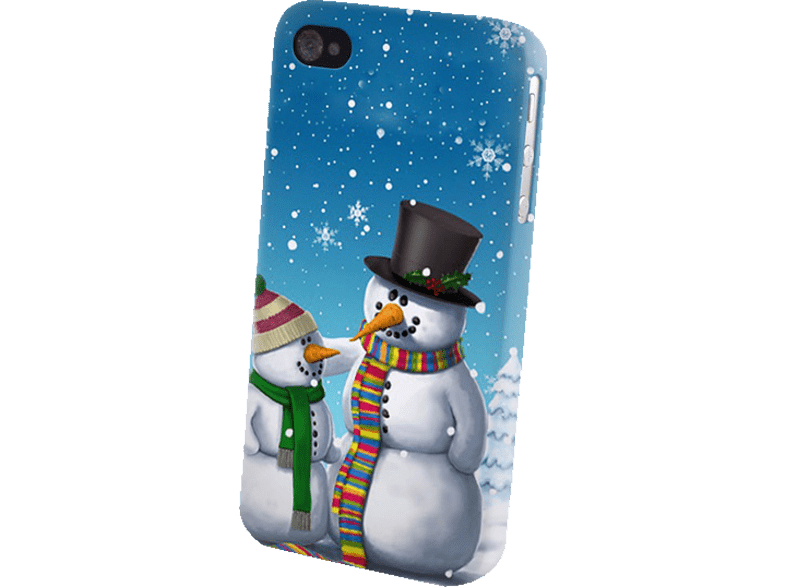 AGM 26120 Backcover Apple iPhone 4/4s Kunststoff Schneemann