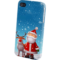 AGM 26118 , Backcover, Huawei, P8 Lite, Kunststoff, Weihnachtsmann