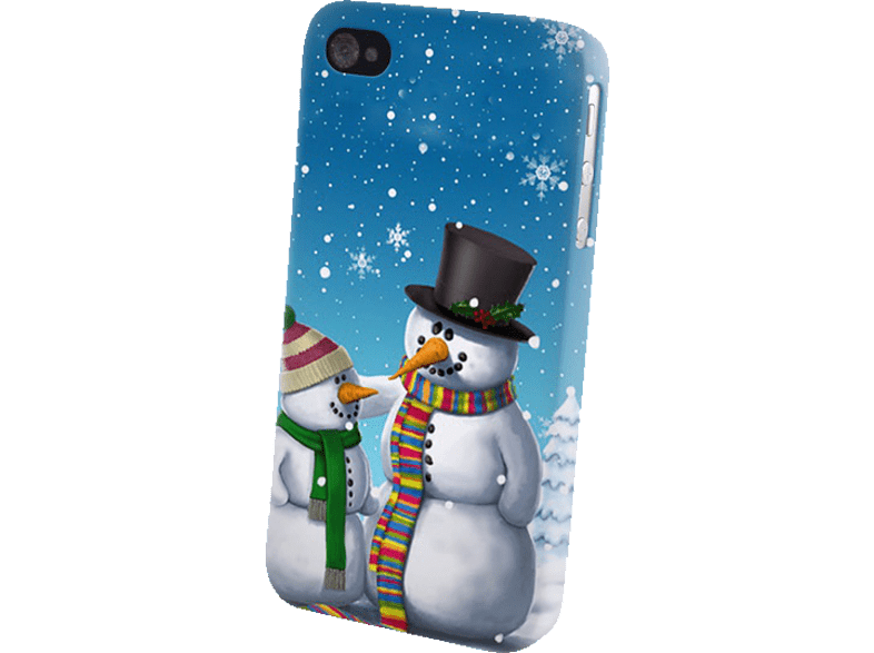 AGM  26128 Backcover Huawei P8 lite Kunststoff Schneemann | 04026436261286