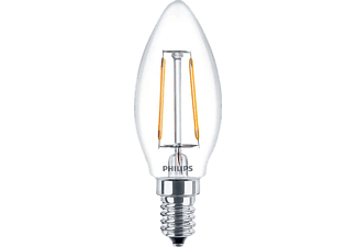 PHILIPS LED F2.3E14B35CL 25W E14 WW B35 CL ND/4 FILAMENT