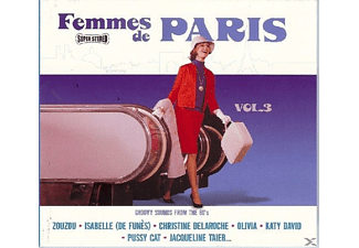 VARIOUS - Femmes De Paris Vol.3 - (CD)