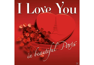 VARIOUS - I Love You In Beautiful Paris - (CD)