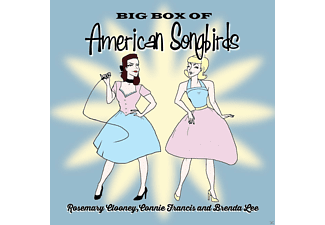 Rosemary Clooney, Connie Francis, Brenda Lee - Big Box Of American Songbirds - (CD)
