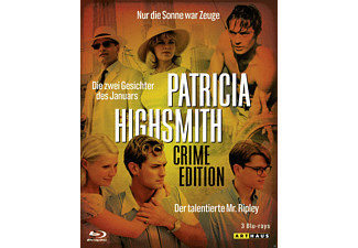 Patricia Highsmith (Crime Edition) [Blu-ray]