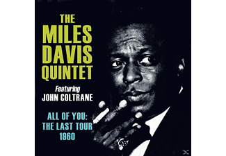 The Miles Davis Quintet Featuring John Coltrane - All Of You: The Last Tour 1960 - (CD)