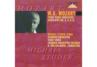 Michael Studer, Cologne Chamber Orchestra - Klavierkonzerte 9,11,12 - (CD)