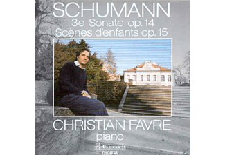 Christian Favre - Klaviersonate 3/ Kinderszene - (CD)