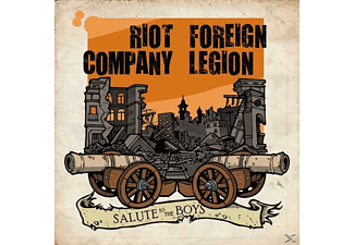 "Riot Company, Foreign Legion - Salute To The Boys (7"" Single) - (Vinyl)"
