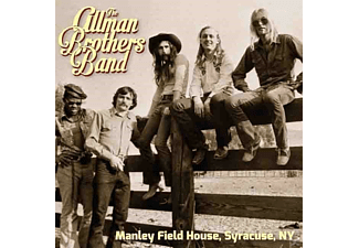 The Allman Brothers Band - Manley Field House,Syracuse,Ny - (CD)