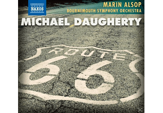 Marin & Bournemouth So Alsop, Marin Bournemouth Symphony Orchestra & Alsop - Route 66 - (CD)
