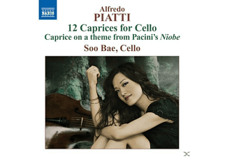 Soo Bae - 12 Caprices für Cello - (CD)