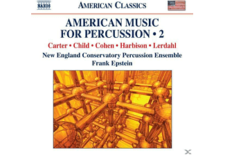 Frank New England Conservatory & Epstein, Epstein/New England Conservatory - American Music for Percussion 2 - (CD)