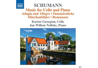 GEORGIAN,KARINE & NELLEKE,JAN WILLEM - Musik Für Cello Und Klavier - (CD)
