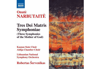 V, Robertas Servenikas, Lithuanian National Symphony Orchestra, Servenikas/Lithuanian National SO - Tres Dei Matris Symphoniae - (CD)