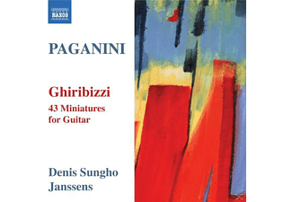 Denis Sungho Janssens - Ghiribizzi-43 Miniaturen F.Gitarre - (CD)