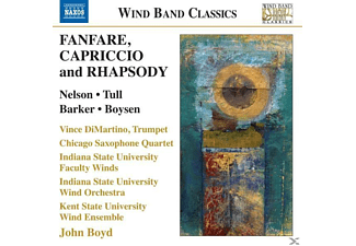 VARIOUS - Fanfare,Capriccio and Rhapsody - (CD)