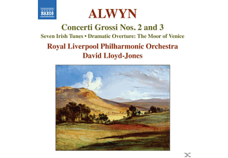 David & Royal Liverpool Po Lloyd-jones - Concerti Grossi 2+3 - (CD)