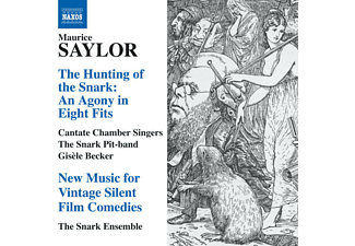The Snark Ensemble, Cantate Chamber Singers, Gisèle Becker, Snark Ensemble/Cantate Chamber Singers - The Hunting Of The Snark - (CD)