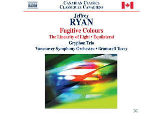 The Gryphon Trio, The Vancouver Symphony Orchestra, Bramwell Tovey, Tovey/Vancoucer SO/Gryphon Trio - Fugitive Colours/Linearity of Light - (CD)