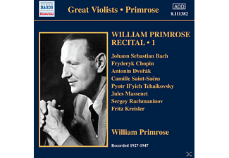 William Primrose - Recital Vol.1 - (CD)