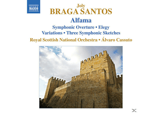 Alvaro & Royal Scottish No Cassuto - Alfama/Symph.Ouvertüre/+ - (CD)