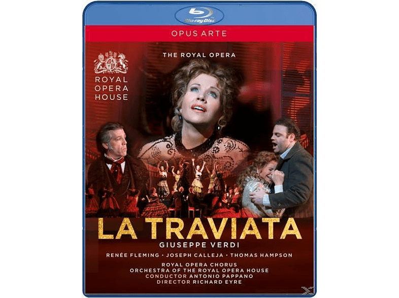 Pappano/Fleming/Calleja/Hampson - La Traviata [Blu-ray]