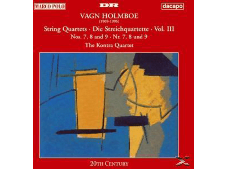 The Kontra Quartet - Streichquartette Vol.3 [CD]