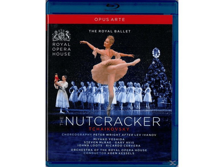 YOSHIDA/CERVERA/ROYAL OPERA HOUSE, Kessels/The Royal Ballet - Der Nussknacker [Blu-ray]