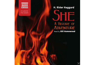 She-A History of Adventure - 4 CD - Hörbuch