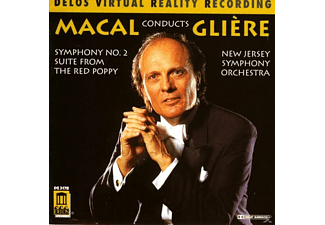 Zdenek Macal, New Jersey Symphony Orchestra - Sinfonie 2/Red Poppy Suite - (CD)