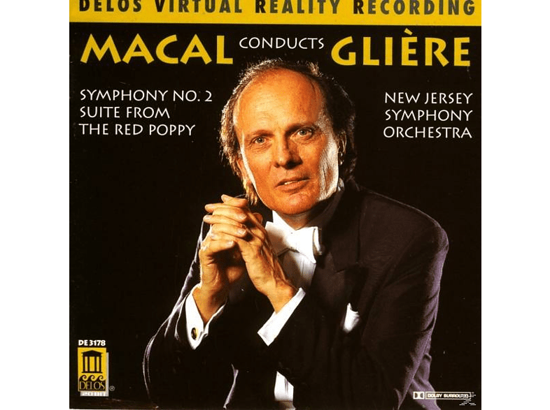 Zdenek Macal, New Jersey Symphony Orchestra - Sinfonie 2/Red Poppy Suite [CD]