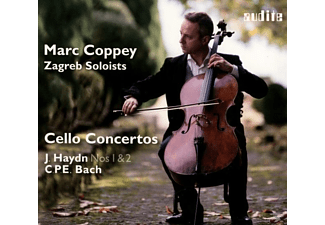 Marc Coppey, VARIOUS, Zagreb Soloists - Cello Concertos - (CD)